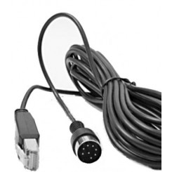 Power Link-RJ45 cable, 10 meters, Black