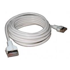 Masterlink kabel 10 meter, hvid