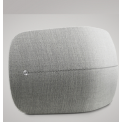 BeoPlay A6, white with grey front cover