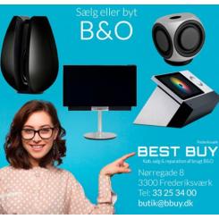 Vi køber meget gerne dit nyere udstyr fra B&O