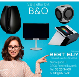 We would love to buy your newer equipment from B&O