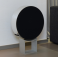 BeoSound Edge - Dark blue / Aluminium with high floor stand