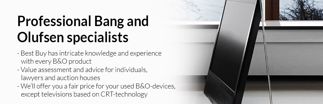 Professional Bang and Olufsen specialists